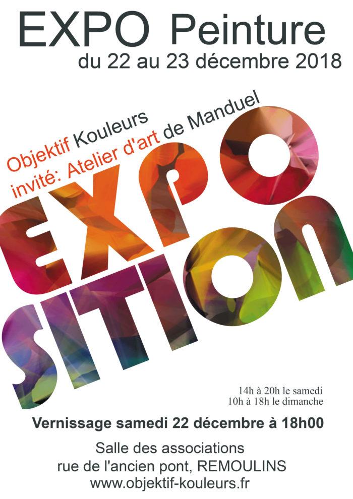 Exposition de peinture annuelle de l'association @ Remoulins
